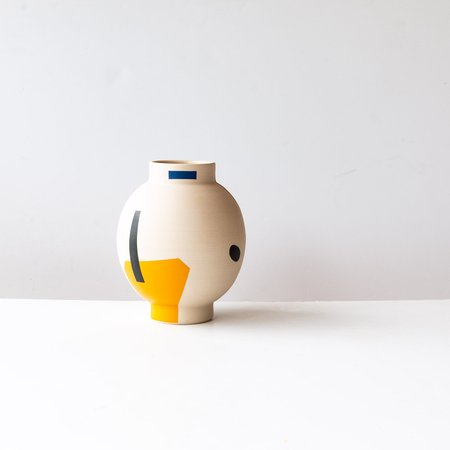 mpgmb Lola #1 Hand Painted Stoneware Vase