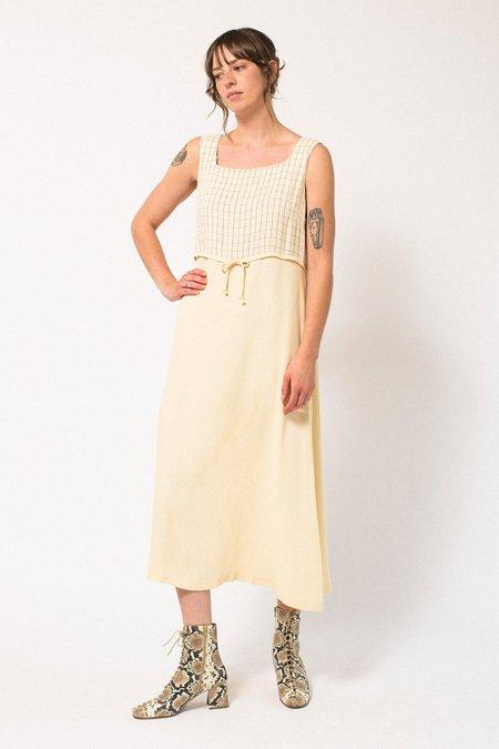 Preservation Vintage Midi Dress - Cream