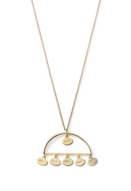 Nina Janvier Nadja necklace I - 14k Yellow Gol