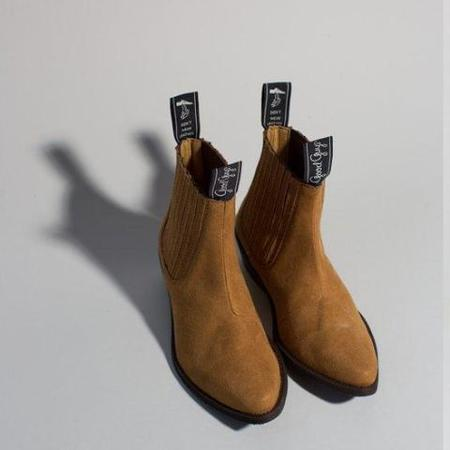 unisex Good Guys Don't Wear Leather The Duke - Mustard
