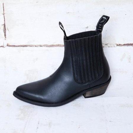 Good Guys Don't Wear Leather The Duke| Vegan Boot - black