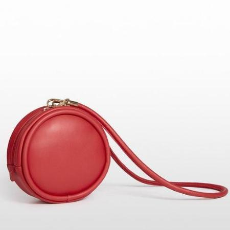 Hozen Collection Vegan Canteen Bag - red