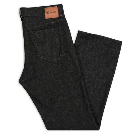 Brixton Labor 5-Pocket Denim Pant - Raw Indigo