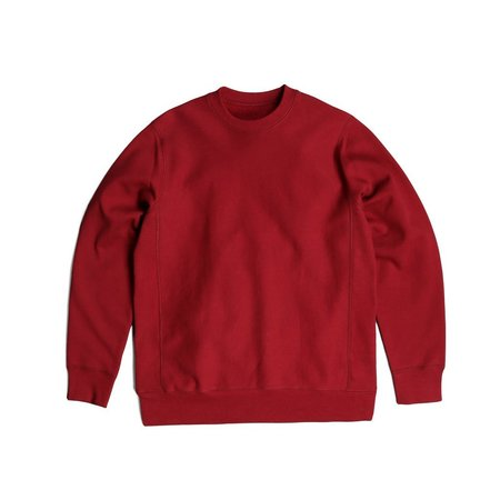 Robertson's Co. Standard Issue Crewneck - Burgundy