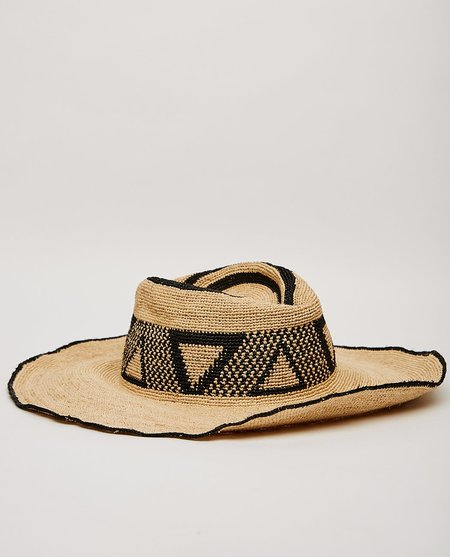 Brixton PECOS HAT - TAN/BLACK