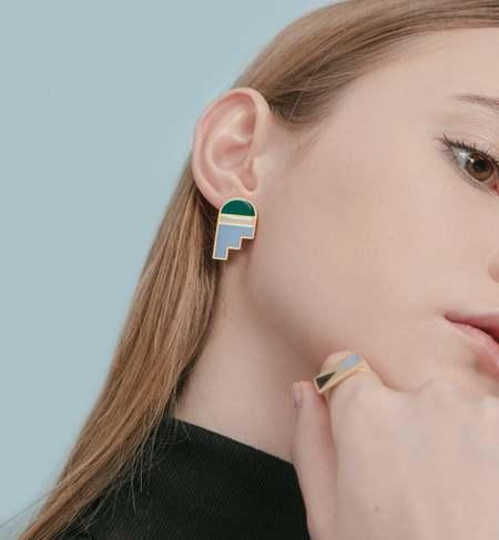 Matter Matters Arch Earrings