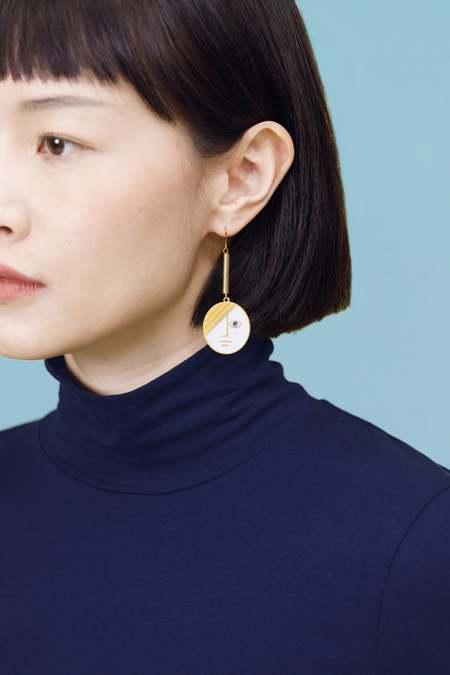 Matter Matters Large Phase Earrings