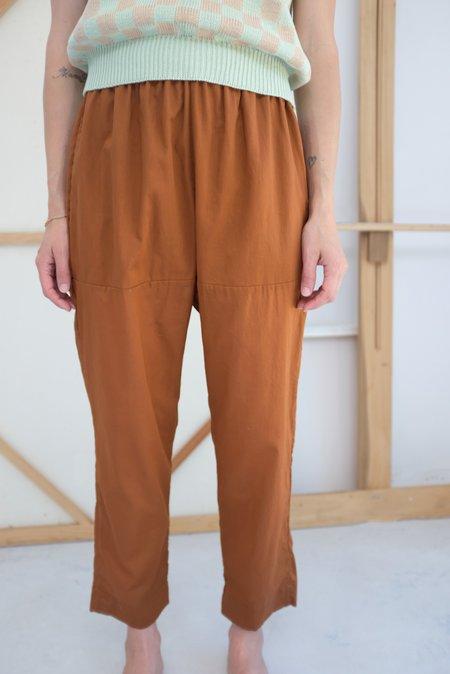 Beklina Basic Pant - Terracotta