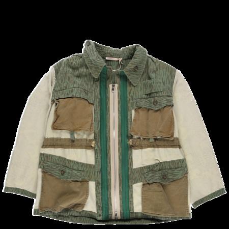 Ermanno Gallamini Twill Army Blazer - Multi
