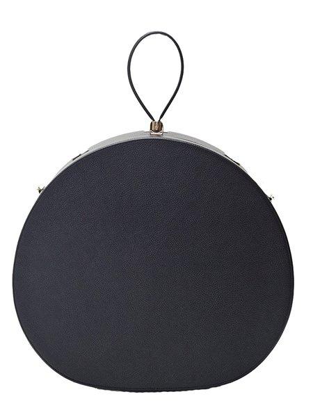 FREYA Poppy Travel Hat Box - Black