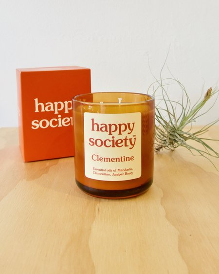 Happy Society Clementine Candle - Large