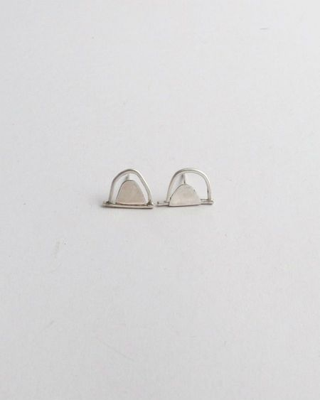 Argent Silversmith Double Arch Studs - Sterling Silver