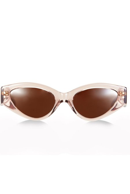 Pared x Bec and Bridge 11 Rave Cave Sunglasses - Tawny