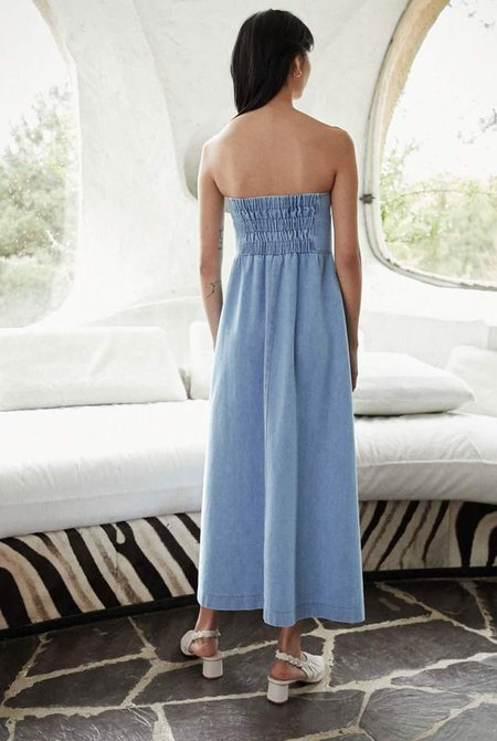 Nanushka Kaia Dress - Blue