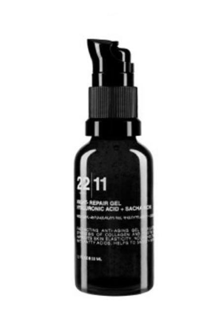 22|11 Cosmetics Night-Repair Gel Hyaluronic Acid + Sacha Inchi - 33ml