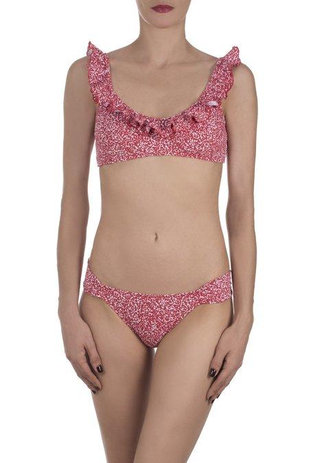 Emmanuela The Lisa Bikini - Red Pique
