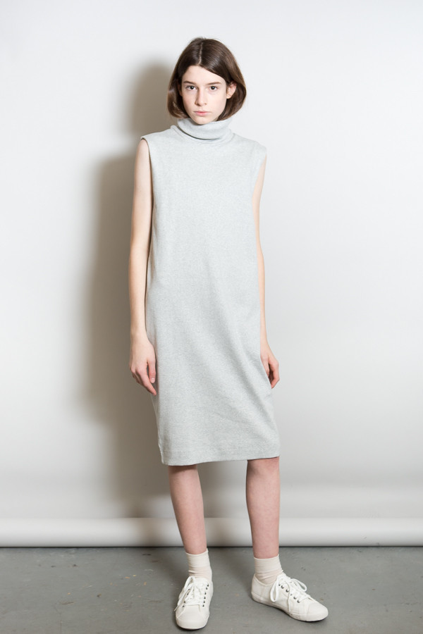 Kowtow Turning Pages Dress / Gray Marle