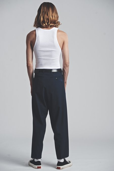 SECOND/LAYER Chuco Trouser - Navy