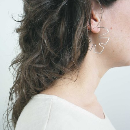 AOKO SU Philodendron Earrings - Goldfill