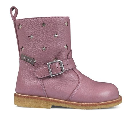KIDS angulus tex boot with zipper - ROSE