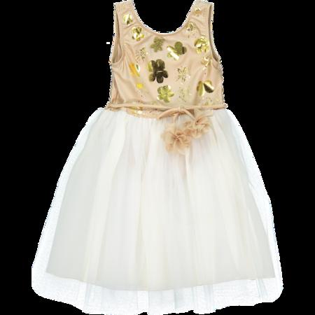 KIDS atsuyo et akiko le bouquet dress - beige