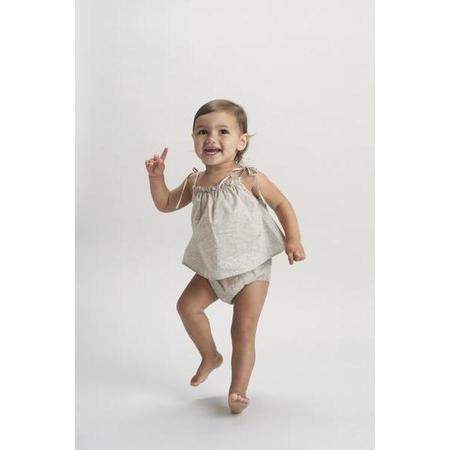 kids belle enfant baby cami + bloomers set - liberty capel