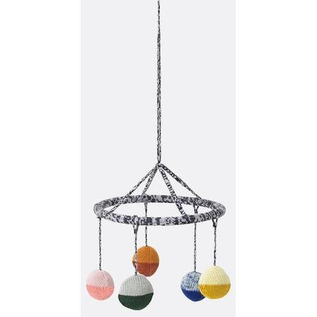 Kids Ferm Living Ball Knitted Hanging Mobile