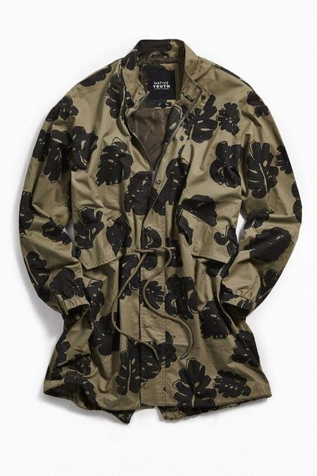 UNISEX NATIVE YOUTH FOREST PARKA - FLORA
