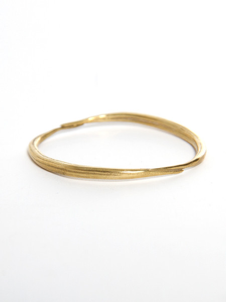 K/LLER Brass Quill Bangle