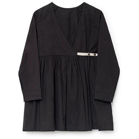 Kids Little Creative Factory Horizon Wrap Blouse - Black
