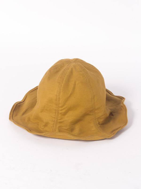 Men's Fingers Crossed Bucket Hat - Mustard