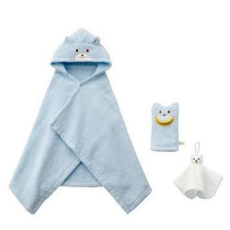 Kids Miki House Bath Time Gift Set - Blue