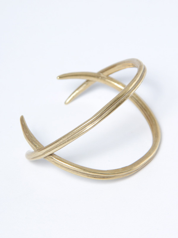 K/LLER Double Quill Crossed Cuff