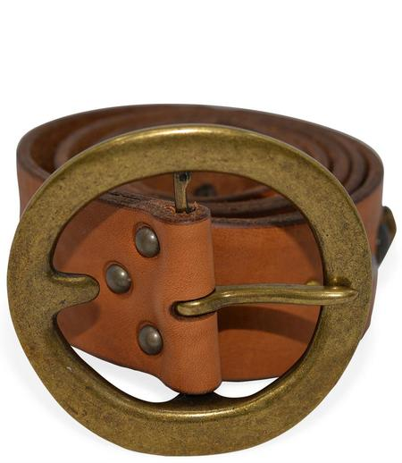 RICCARDO FORCONI 4042 LEATHER BELT - CUOIO