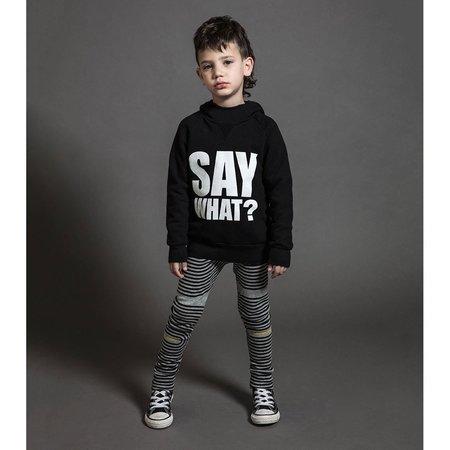 KIDS nununu spiral leggings - heather grey