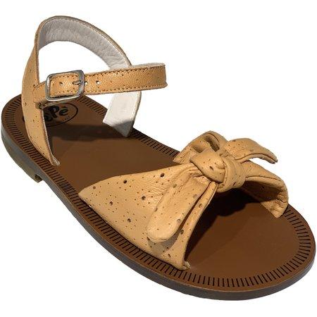 Kids pèpè heritage sandals - tan