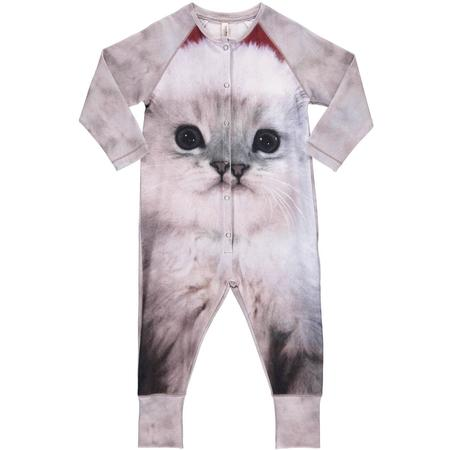 kids unisex popupshop fluffy cat one piece