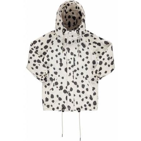 kids popupshop wind jacket - white leo