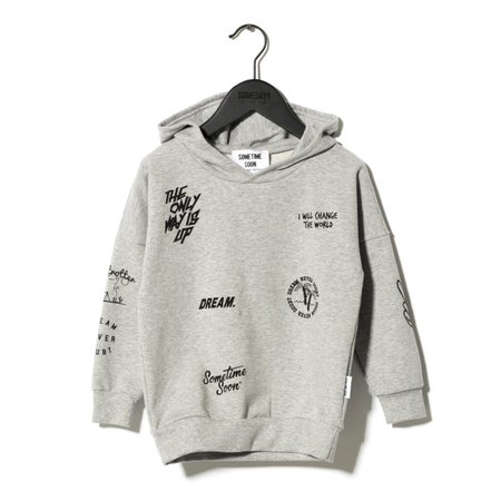 Kids Sometime Soon Carlos Sweatshirt - Grey Melange