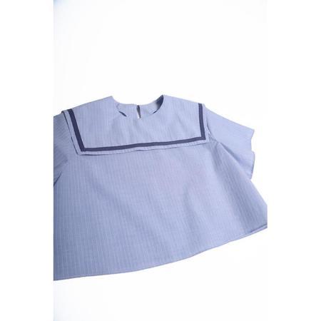 Kids Tia Cibani Jackob Sailor Baby Shirt - Dew