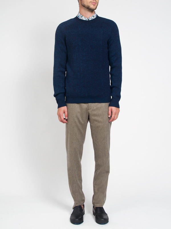 Men's Ddugoff Saddle Shoulder Sweater