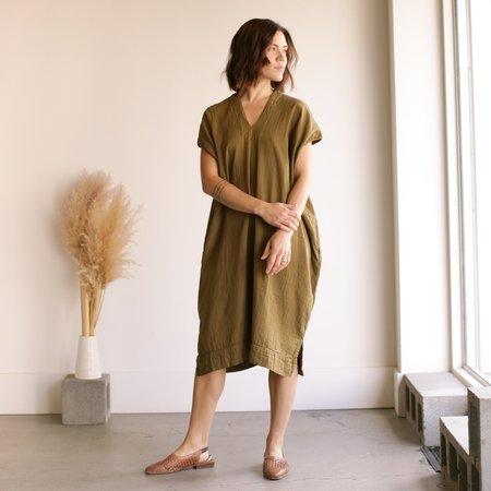 Atelier Delphine Crescent Dress - Kelp