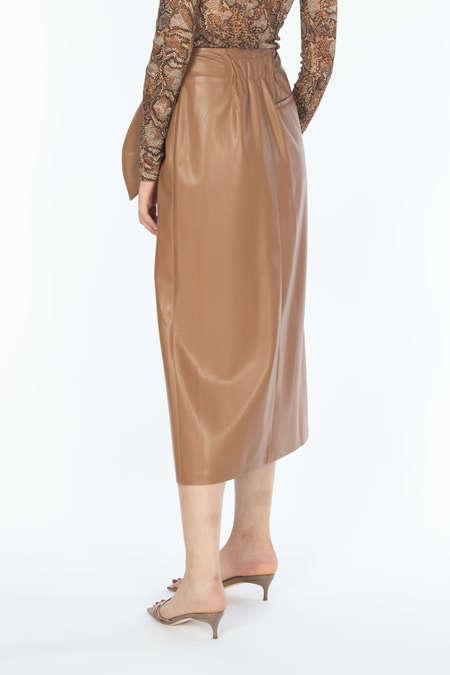 NANUSHKA Sarong Skirt - Brown