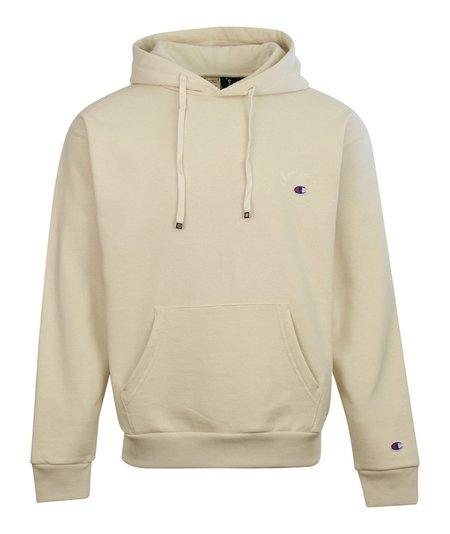 Champion x Clothsurgeon Small Logo Hooded Sweatshirt - Ecru