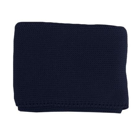 kids Pequeno Tocon Baby Blanket - Navy Blue