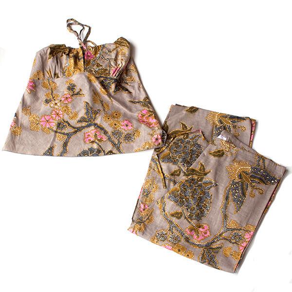 Utopic Batik Lounge Set Tan