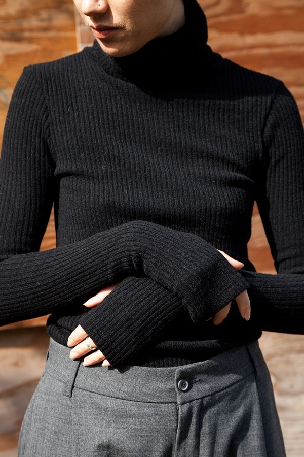 Assembly NY Ribbed Turtleneck