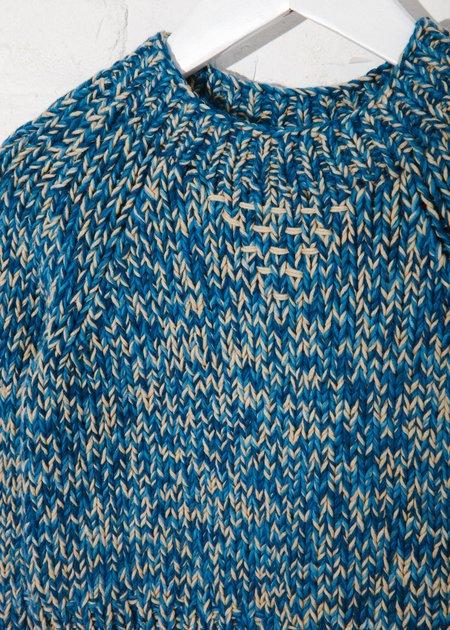 Kids Indi Nova Sweater - Natural Indigo