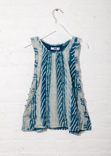 KIDS Indi Rove Dress - Broken Herringbone