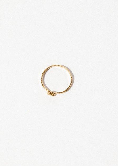 Jerry Grant Three Diamond Cluster Ring - 14k Gold